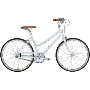 Civia Cycles Lowry 1-Speed Step-Thru Bike - Coconut White