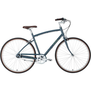 Civia Cycles Lowry 8-Speed Internal Step-Over Bike - Gray
