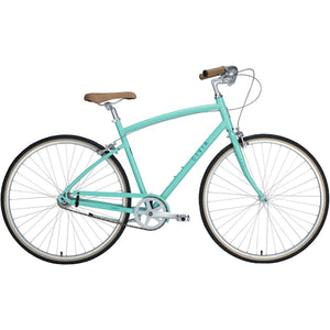 Civia Cycles Lowry 1-Speed Step-Over Bike - Mint Green