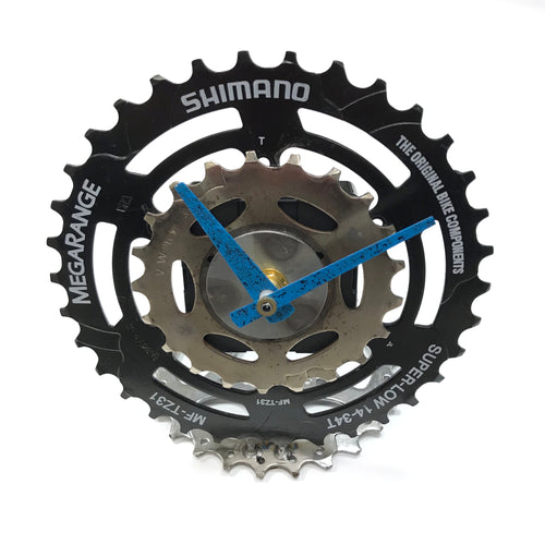 Natural Cog and Gear Desk Clock