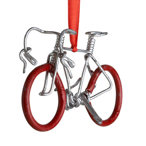 Pedal Metal Bike Ornament
