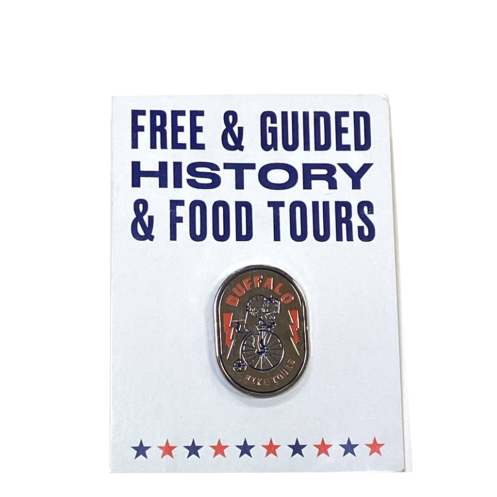Buffalo Bike Tours Pin