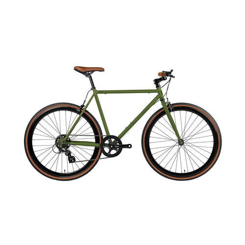 Fyxation Bicycle Company Pixel 7-Speed - Matte Olive Green