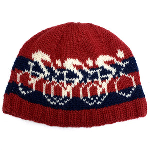Racing Bike Hand-Knit Hat