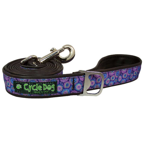 Purple-Blue Tie-Dye Leash