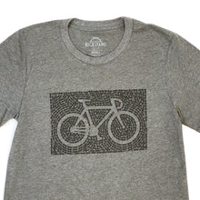 Unchained Road Bicycle T-Shirt, Gray, Unisex