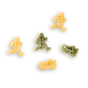 Fun Shaped Pasta - Bicycles, Runners, Cats, Dogs