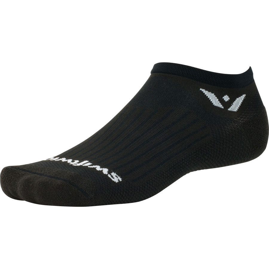 Swiftwick Aspire Zero Socks - No Show, Black