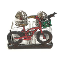 Bike Salt and Pepper Set