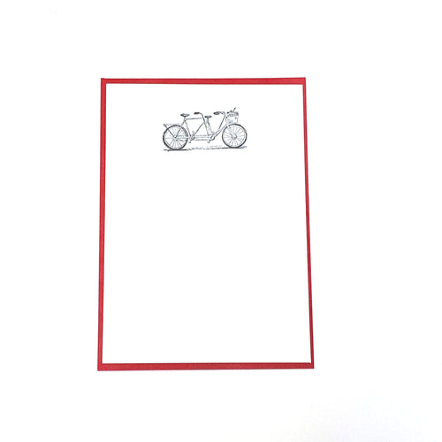 Tandem Bike Notecards Boxed Set (10)