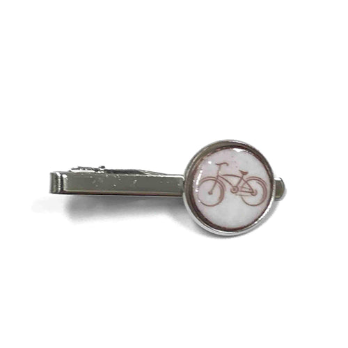 Enameled Penny Bicycle Tie Clip