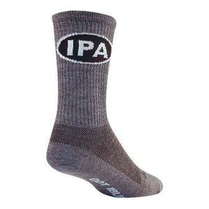 "SockGuy IPA 6"" India Pale Ale Turbowool Crew Socks"