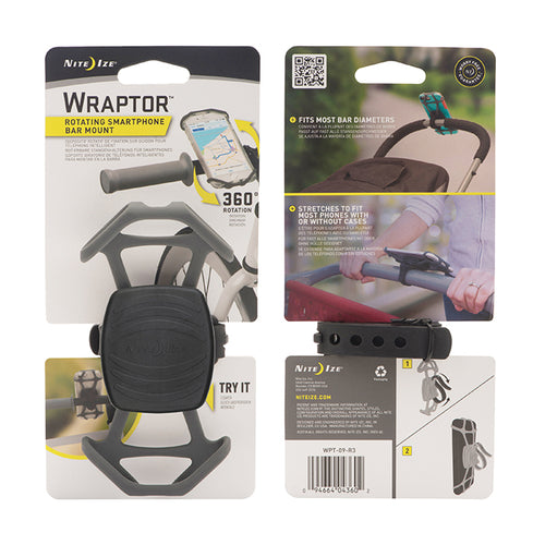 Wraptor Rotating Smartphone Bar Mount