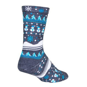 "SockGuy 6"" Winter Sweater Wool Socks"