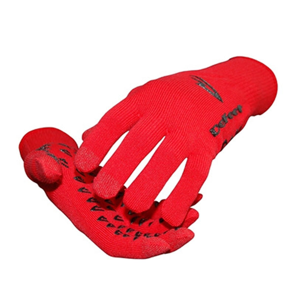 DeFeet DuraGlove ET (Electronic Touch) Red Cordura Gloves