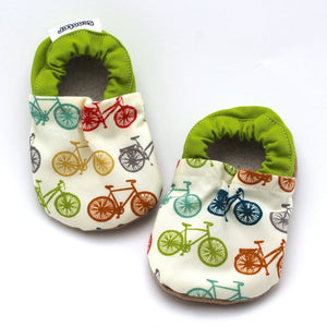 Multi-Colored Bicycle Booties