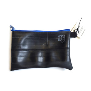 Zipper Pouch - Made With Recycled Bike Tubes