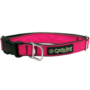 MAX Reflective Hot-Pink Dog Collar