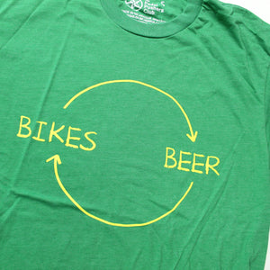 Bikes Beer T-Shirt, Men's