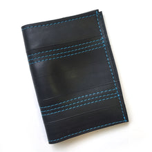 Wallet With Contrasting Threads - Made With Recycled Bike Tubes