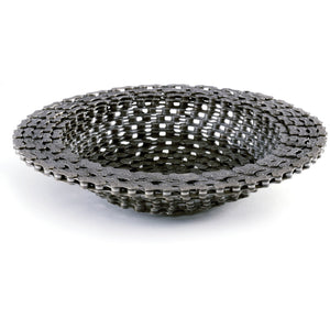 Recycled Bicycle Chain Bowl - Slightly Larger