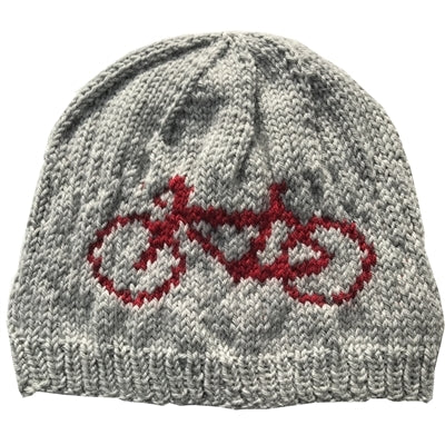 Hand-Knit Bike Hat, Extra Small