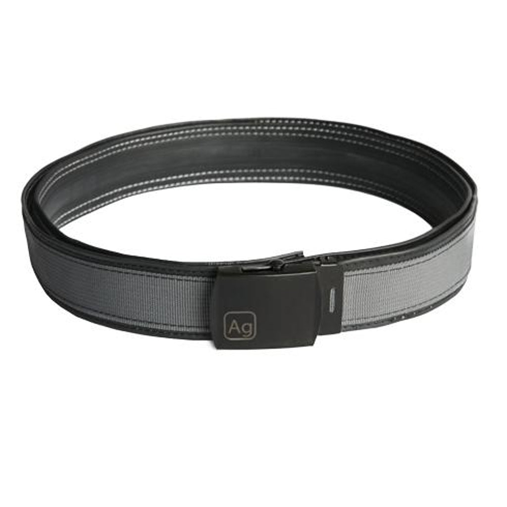 Alchemy Goods Delridge Belt made with Bicycle Inner Tubes and Recycled Polyester Webbing