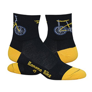 "DeFeet Aireator 3"" Banana Bike Socks"