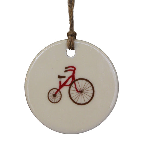 Ceramic Ornament - Tricycle
