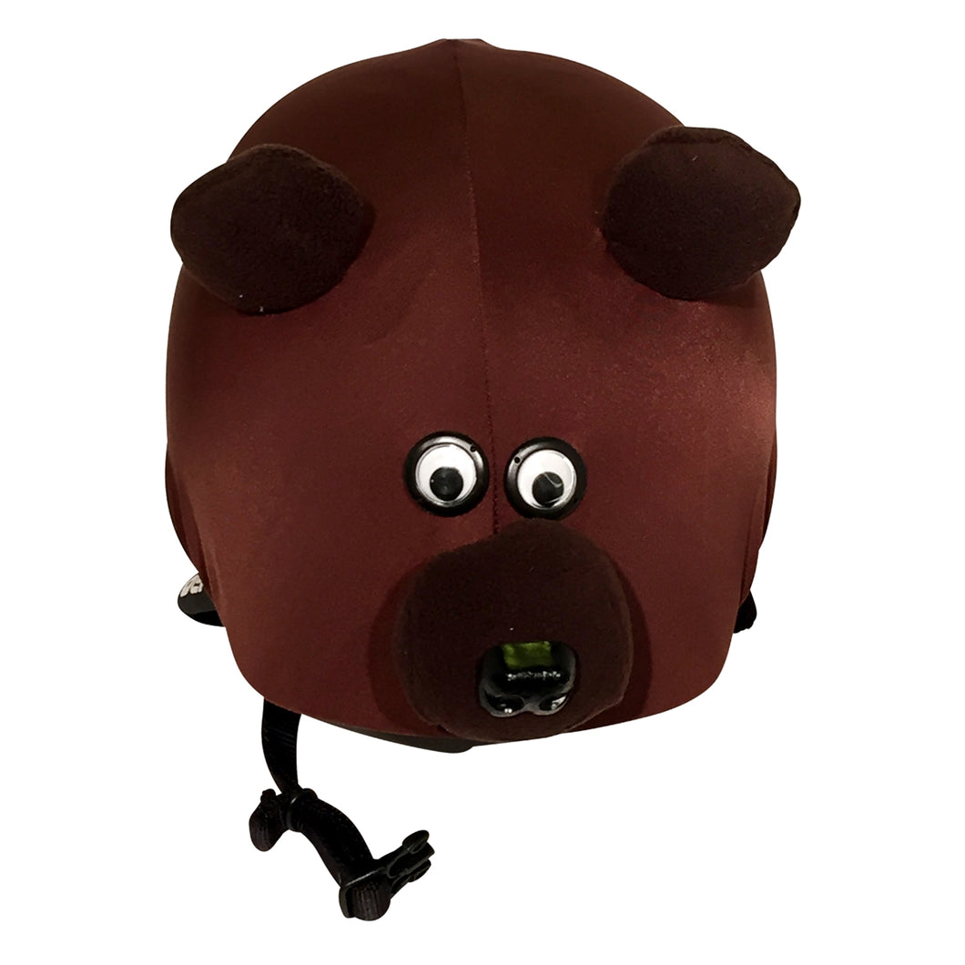 Teddy Bear Helmet Cover