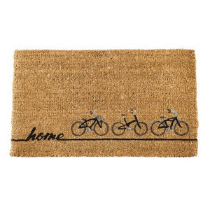 Bicycles Woven Back Coir Doormat