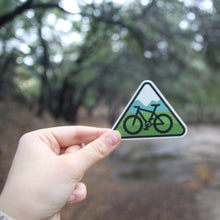 Mountain Bike Vinyl Sticker