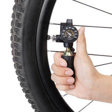 Topeak Airbooster G2 CO2 Inflator with Tire Pressure Gauge