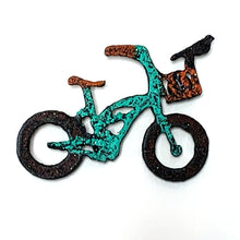 Reclaimed Metal Bike Magnets, Small