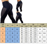 Women Sports Pants High Waist Yoga Fitness Leggings - UNVACANAL