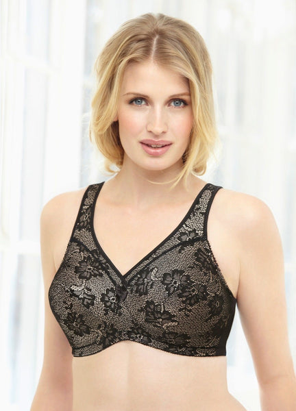 Full-Figure SUPPORT LIFT COMFORT Glamorise bras - UNVACANAL