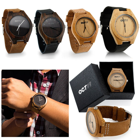 Luxury Women's Bamboo Wood Watch