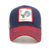 Animals Embroidery Baseball Caps Men Women Snapback Hip Hop Hat - UNVACANAL