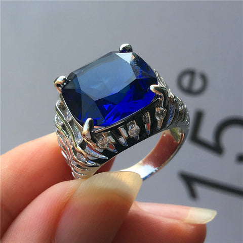 Luxury Fashion Crystal Zircon Party Promise Rings For Women - UNVACANAL