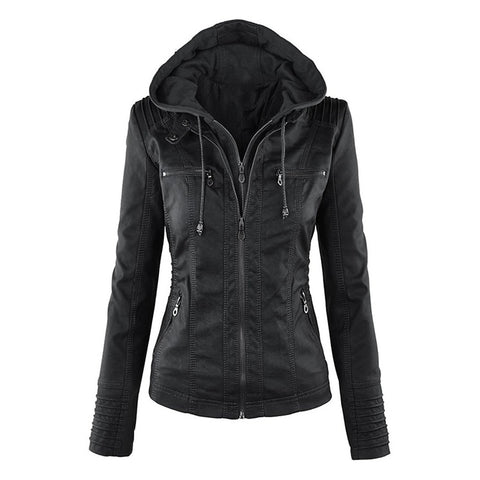 Women Faux Soft Leather Jackets
