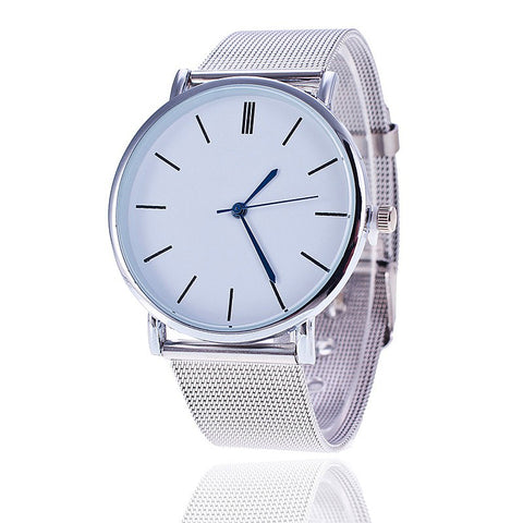 Fashion Metal Stainless Steel women Watches
