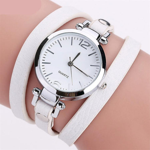 Hot Selling Fashion Luxury Leather Bracelet Watch