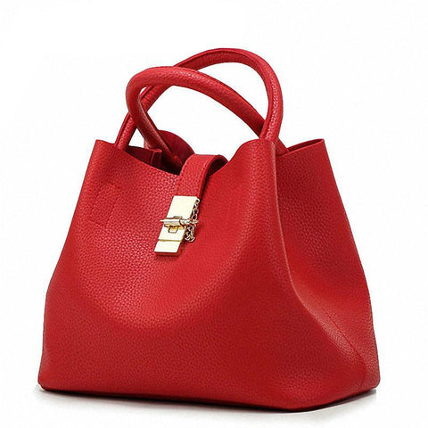 Famous Fashion Brand Candy Shoulder Bags Ladies Totes Simple Trapeze Women Messenger Bag - UNVACANAL