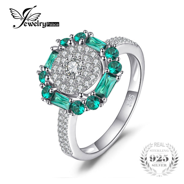 Real Sterling Silver Vintage Fine Jewelry Rings For Women - UNVACANAL