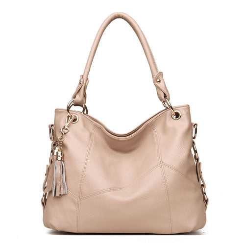 Women Leather Handbags Women Messenger Bags Designer Crossbody Bag - UNVACANAL