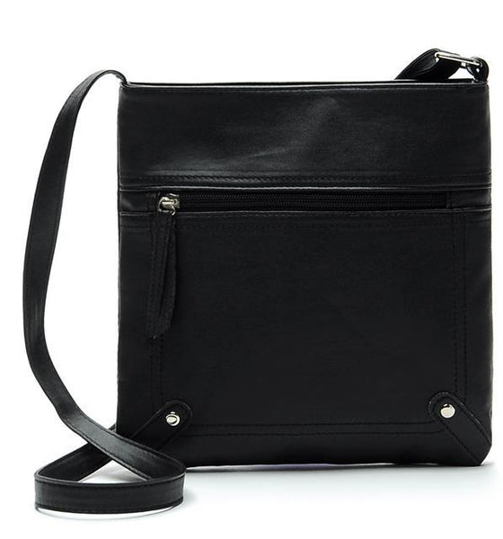 Women Messenger Bags Females Bucket Bag Leather Crossbody Shoulder Bag - UNVACANAL