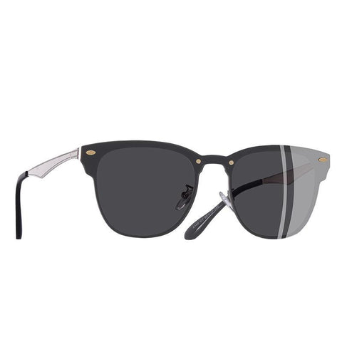 Retro Vintage Square Metal Frame Unisex Women Sunglasses