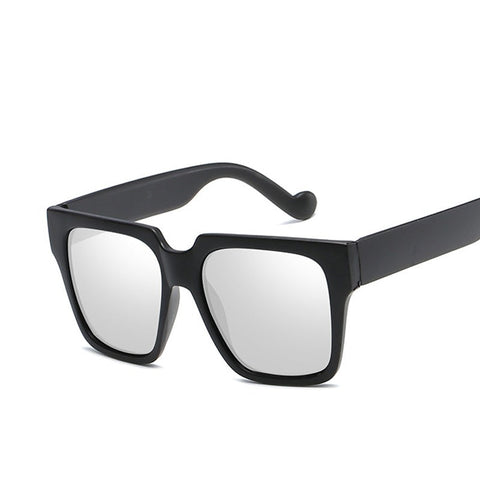 Brand Designer Black Oversized Fashion New Square Sunglasses