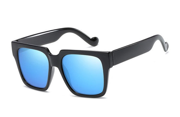 Brand Designer Black Oversized Fashion New Square Sunglasses - UNVACANAL