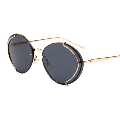 Luxury Brand High Quality UV400 Vintage Women Sunglasses